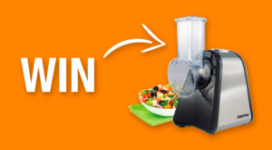 WIN a Geepas 200W 4 in 1 Electric Salad Maker