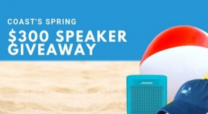 $300 Speaker + Spring Shopping Spree