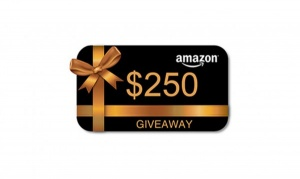 $250 Amazon Gift Gard Giveaway