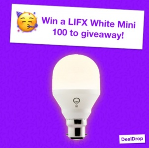 Win a LIFX White Mini - 100 To Giveaway!
