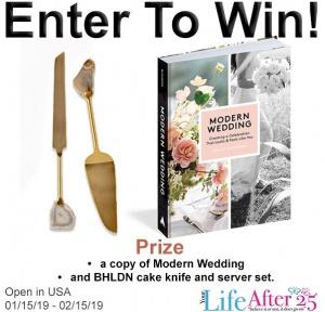 Modern Wedding Prize Pack Giveaway