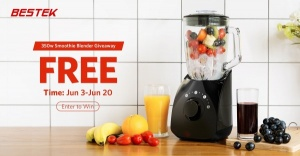 Win a Smoothie Blender and $50 Amazon Gift Card