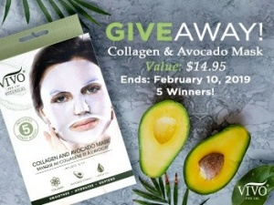 Win a Collagen And Avocado Mask