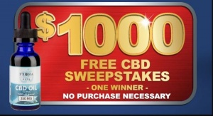 Win $1000 Worth of CBD For Pets!