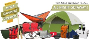 Win a 3 Night Camping Trip Plus All The Gear You Need