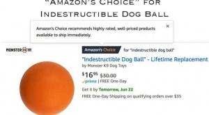 Indestructible Dog Ball Giveaway