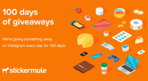 100 Days of Giveaways