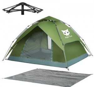 Night Cat Automatic Waterproof Camping Tent Giveaway