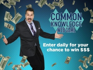 Common Knowledge Web Game $500 Sweepstakes