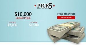 Pick5 Stock Challenge