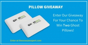 The Snooze Expert Pillow Giveaway