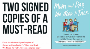 "Signed Book ""Mom and Dad, We Need To Talk"" + $50 Amazon Gift Card"