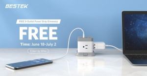 Win a 3-outlet Power Strip and $50 Amazon Gift Card