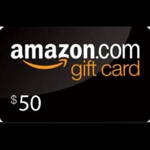 Win a $50 Amazon or eBay Gift Card