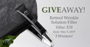 Retinol Wrinkle Solution Filler Giveaway