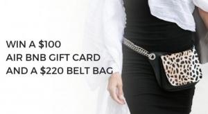 Win an Air BnB Gift Card and a Luxury Handbag