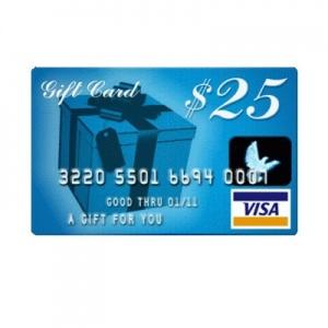 Win a $25 Visa Gift Card