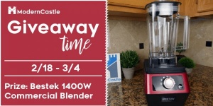 Bestek 1,400W Commercial Blender Giveaway