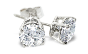 1 Carat Diamond Stud Earrings Giveaway