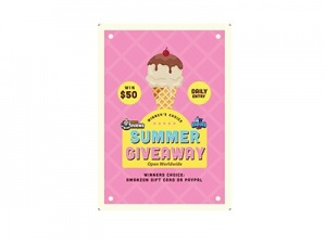 Worldwide Summer $50 Giveaway