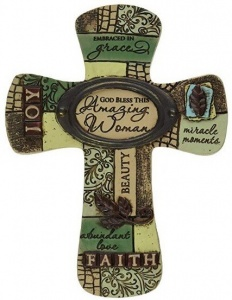 'Amazing Woman' Home Décor Cross Giveaway