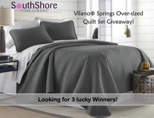 Vilano Springs Quilt Set Giveaway