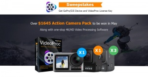 DJI OSMO Action and GoPro Sweepstakes