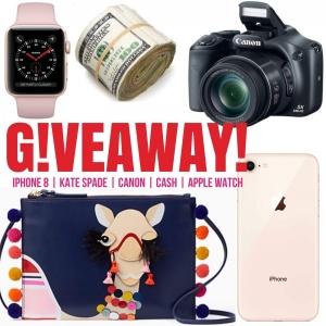 iPhone, Canon, Kate Spade & $600