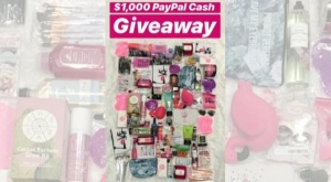 Win $1,000 in PayPal Cash Giveaway
