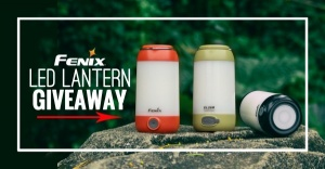 Fenix CL26R Rechargeable Lantern Giveaway