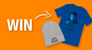 WIN a Jon Snow T-Shirt and Hat Bundle!