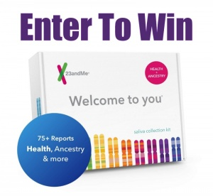 23andMe Ancestry + Health DNA Test Kit Sweepstakes