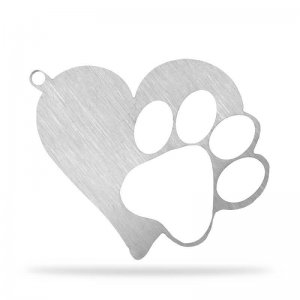 Get A Free Heart Paw Keychain