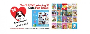 21 Puppy Books Giveaway